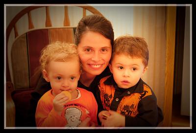 Gerri, Jack and Hannah