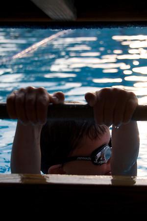 Hayden's swim meet '09
