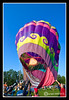 Hot Air Balloon at the 28th Annual Pittsfield NH Rotary's Hot Air Balloon Rally 2009