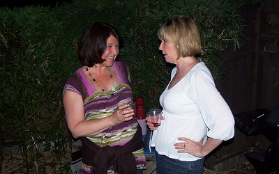 Maura (originally the friend of a friend) and Martha (an old HP friend)