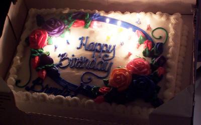 """Brenda's birthday cake. It even says """"Brenda"""""""
