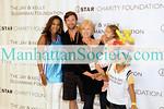NEW YORK-JULY 20:  Vivica Fox, Hugh Jackman, Deborra-Lee Furness, Eva Jackman  iStar Charity Foundation 7th Annual iStar Charity Shootout on Monday, July 20, 2009 at Madison Square Garden,  New York City, NY (Photo Credit: ManhattanSociety.com by Gregory Partanio)
