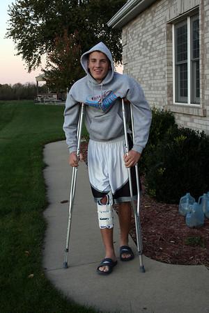 Ian's Knee Surgery