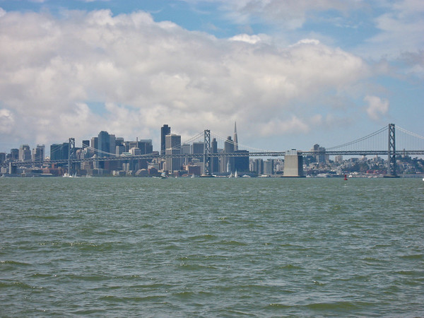 SF Skyline, from the boat