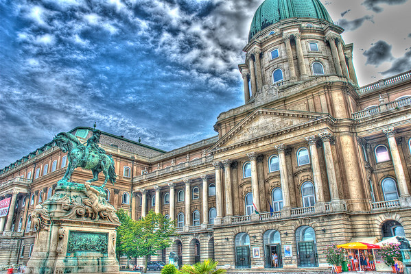 The Royal Palace, Grunge looking HDR