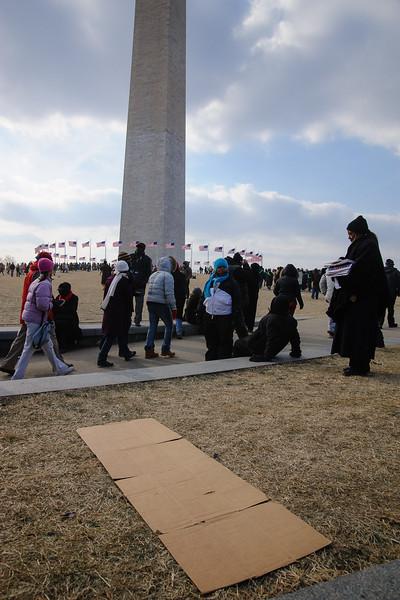 Circling the Washington Monument