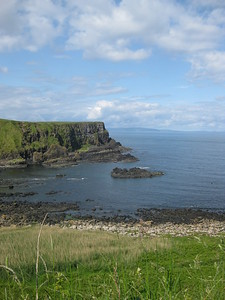 Walking along the Giant's Causeway - Kimberly Collins