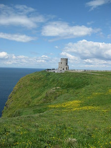 Tower on the Cliffs of Moher - Kimberly Collins