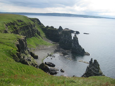 View from the top of Rathlin Island - Kimberly Collins