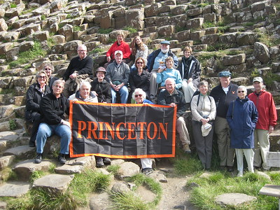 Princetonians at the Giant's Causeway - Kimberly Collins