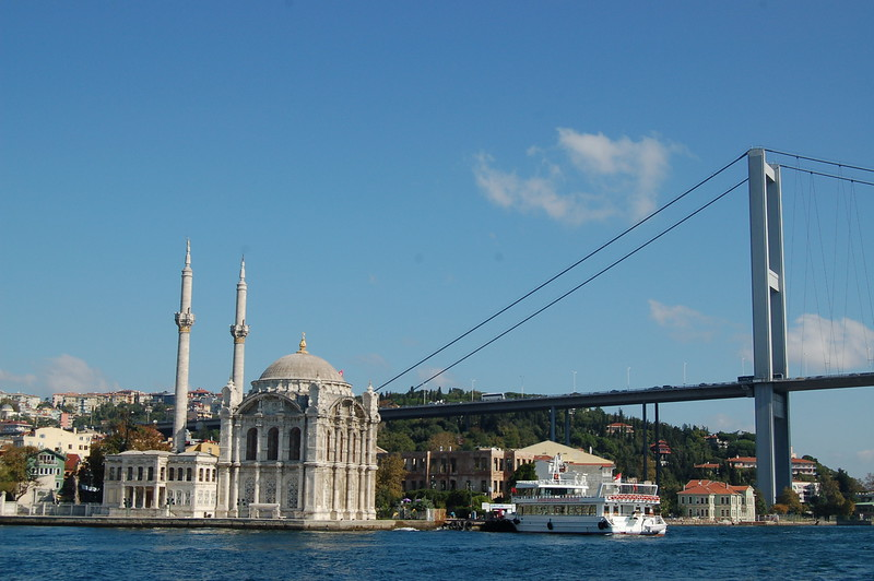 Mosque + bridge