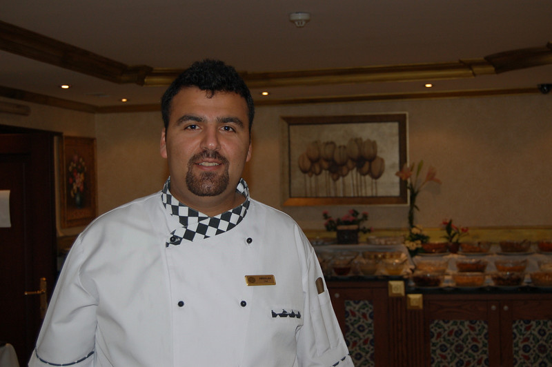 Abdullah, the hotel chef.