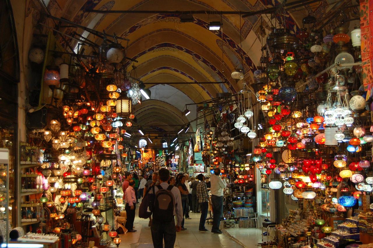Grand Bazaar - Lamps