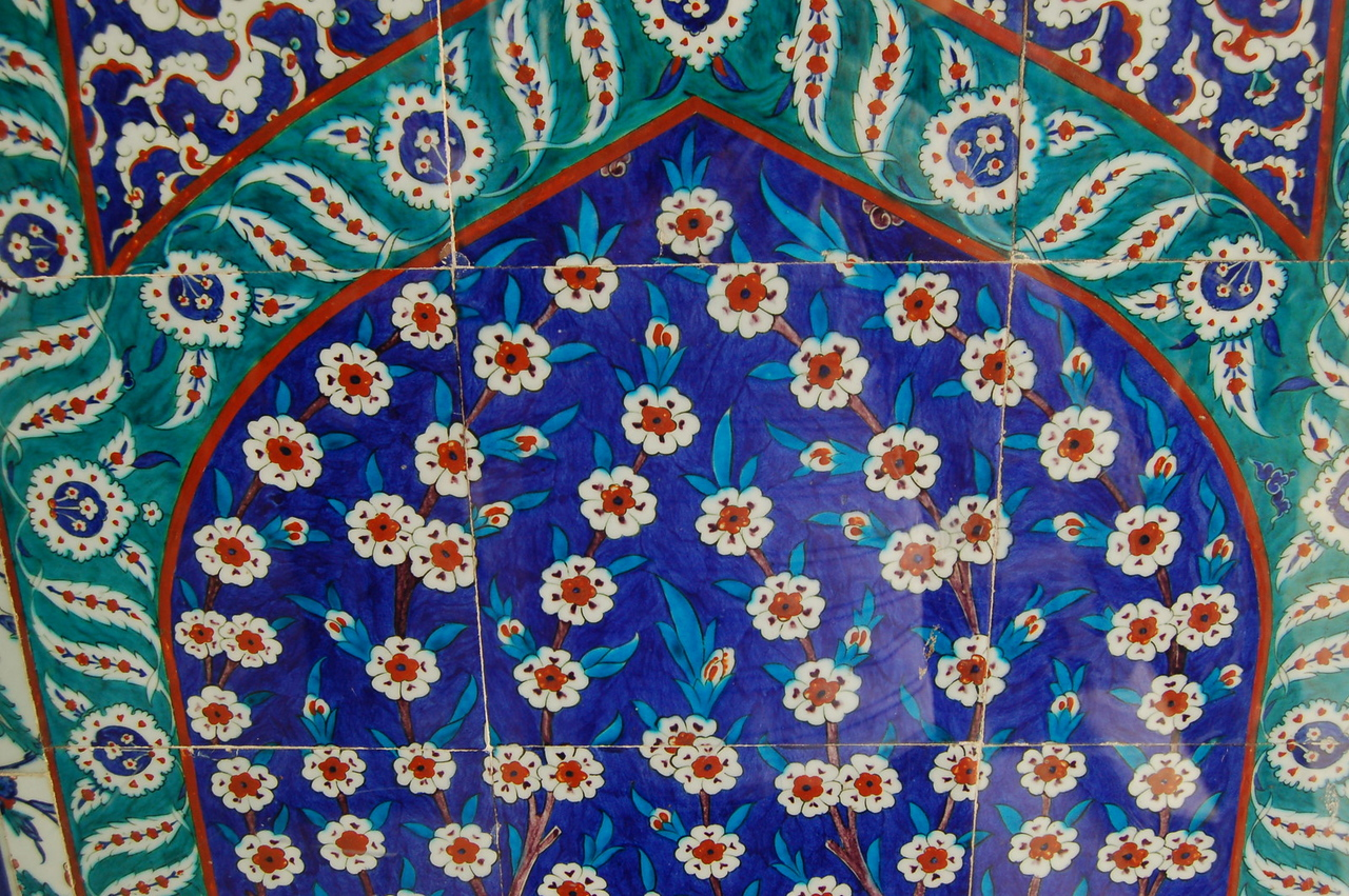 Wall decoration at Topkapı Palace