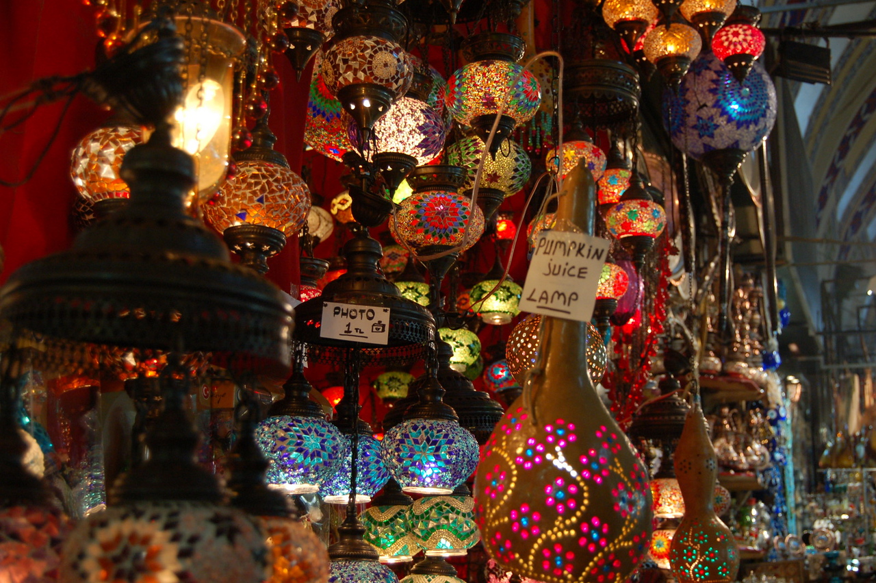 Grand Bazaar - More lamps