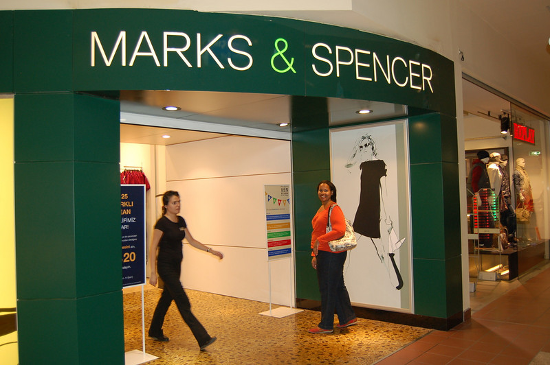 Marks and Spencer!