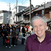 I never knew anyone who could get into the Matsuri mood more than Jim.  He felt the excitement more vividly than most of us who could see every bit of it.  Sawara Matsuri, 13 October, 2008