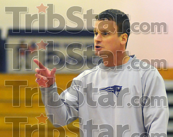 Rookie: Terre Haute North Head basketball coach Todd Woelfle will coach his first game against crosstown rival Terre Haute South tonight in Hulman Cneter.