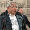 To book-in: Turk Roman walks to the Vigo Co. jail from the courthouse Friday afternoon after being arrested on a class D felony warrant for impersonating a public servant on December 18th 2008.
