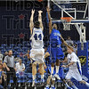 Jay's trey: Indiana State's Jay Tunnell shoots a three-point basket over Creighton's Justin Carter (1) during the Sycamores' 79-61 loss Wednesday at Hulman Center.