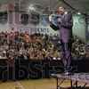 Tribune-Star file photo/Joseph C. Garza<br /> What he believes in: Then-U.S. Senator and democratic presidential candidate Barack Obama discusses his platform to a full Terre Haute North High School gymnasium Friday, April 11, 2008.