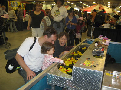 Steve, Mia, Omi and Rubber Duckies at National Western Stock Show 2009