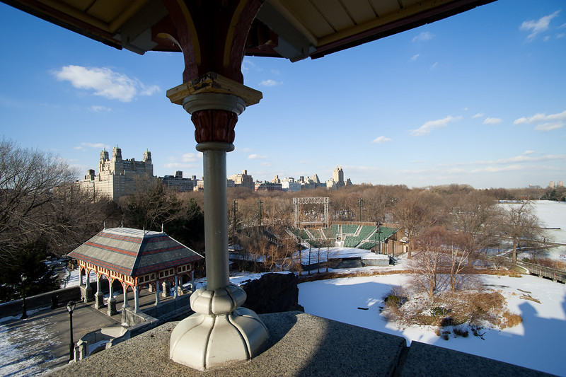 West from Belvedere Castle
