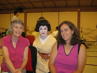 Martha, Maiko (Geisha) and Debbie - Kimberly Collins
