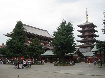 Asakusa Kannon Temple - Kimberly Collins