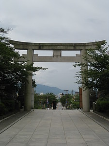 Main Gate at Takeda Shrine - Kimberly Collins