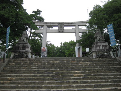 Maine Gate at Takeda Shrine - Kimberly Collins