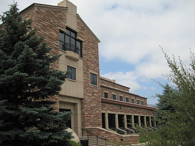 University of Colorado Boulder Mathematic Building