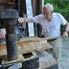 Keeps on going: Albert Siebenmorgan first came to Camp Krietenstein in 1933. He still returns each summer to help with maintenence and odd chores.
