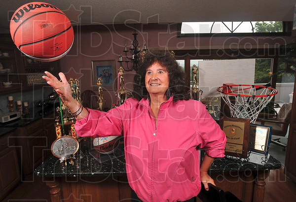 Tribune-Star/Joseph C. Garza<br /> An inspiring career: Cheryl Weatherman has been a trailblazer for girls' sports in Indiana by giving much of time to coaching, teaching and officiating during her career.
