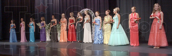 4-Hers: 14 young women vied for the title of 2009 Vigo County fair queen Thursday night. Maggie Riser was chosen Miss Congeniality by her peers and Mary Roberts was crowned the queen.