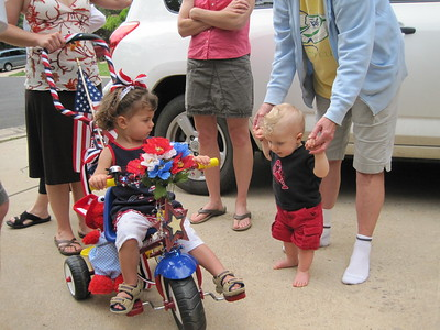 Mia's First Devil's Thumb July 4th Bike Parade