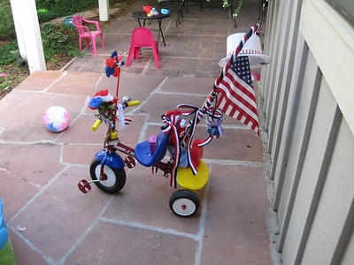 Ready for 4th of July Bike Parade