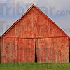 Showing its' age: A barn along SR 63 in southern Vigo county is beginning to show its age, with doors and walls not quite square, plumb and level anymore.