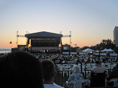 Motown with the San Diego Symphony on the Bay 2009