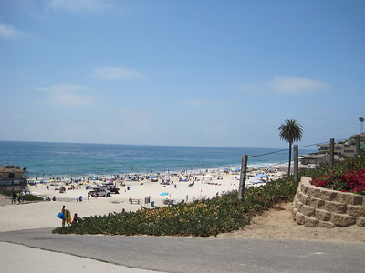 Moonlight Beach in Encinitas 2009