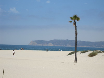 Beautiful Beach on Coronado Island
