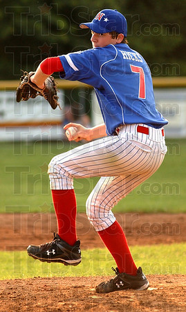 On the mound:Austin Hicks started on the mound for Terre Haute North.