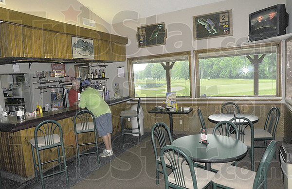 Rest stop: The restaraunt and pro shop at Hulman Links add to the appeal of the golfcourse.