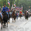Good turnout: The Frontier Day Parade had a good turnout in spite of the threat of heavy rain.