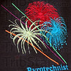 Logo detail: embroidered emblem on shirts of pyrotechnists.