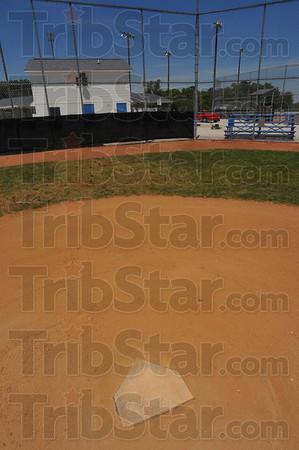 Here's home: The Riley baseball facility sports four diamonds.