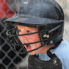 Let's go: Texas Roadhouse catcher #9, Reagan Fredrick shouts to encourage her teammates during Tuesday's game against the Sertoma team.