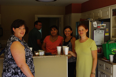 Tonya, Veronica, Ana, and Mary Jane