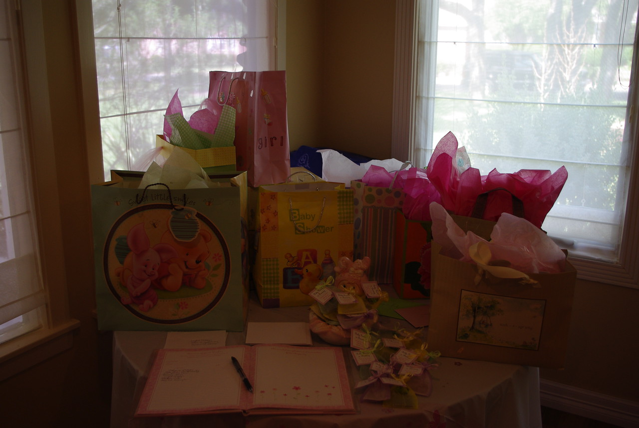 Lots of gifts!