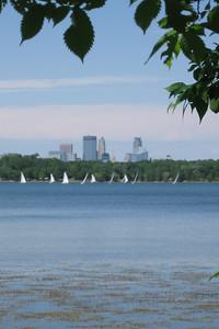 Lake Harriet and Minneapolis